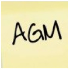 Save the Date! AGM on Tuesday 29 September 2020